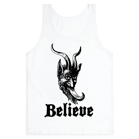 Believe In Krampus Tank Top