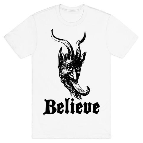 Believe In Krampus T-Shirt