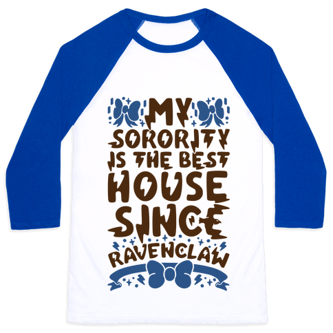 Ravenclaw Sorority Baseball Tee