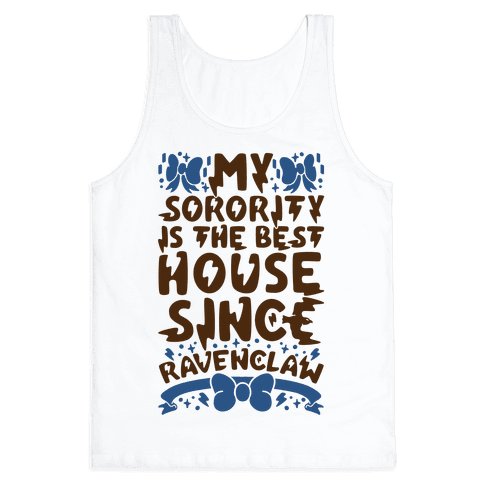 Ravenclaw Sorority Tank Top