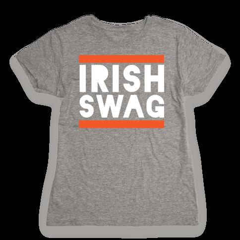 Irish Swag Womens T-Shirt