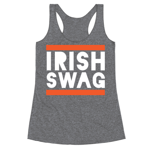 Irish Swag Racerback Tank Top
