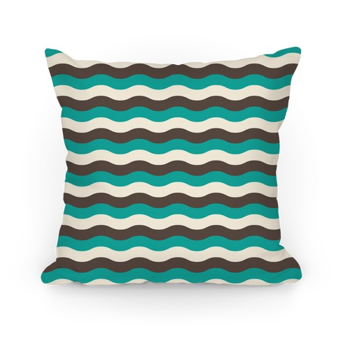 Green Cream Grey Pillow Pillow