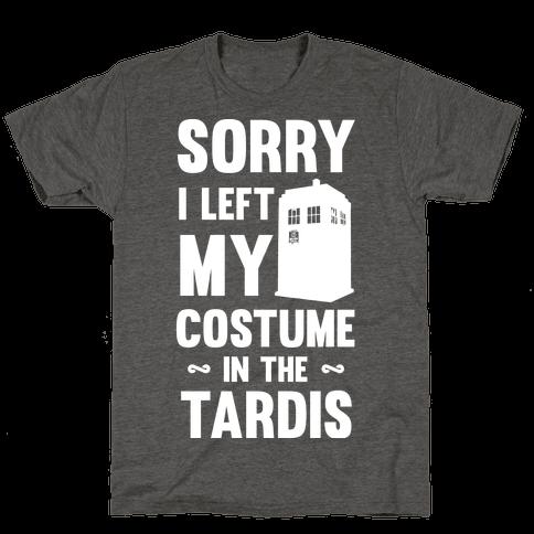 Sorry I Left My Costume In The Tardis