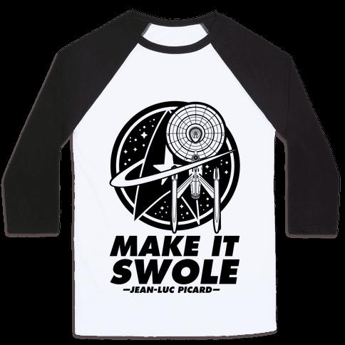 Make It Swole Baseball Tee