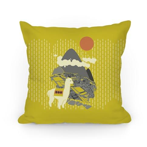 Machu Picchu Pillow