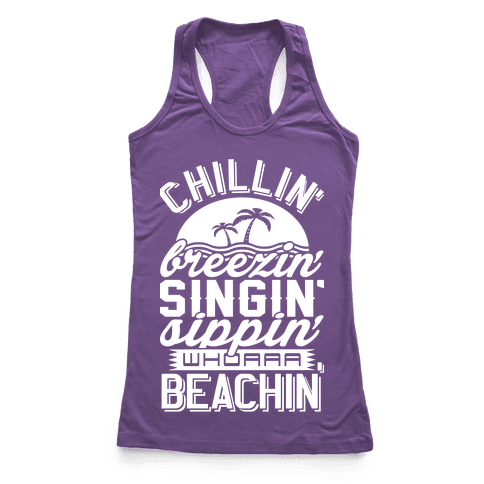 Beachin' Racerback Tank Top