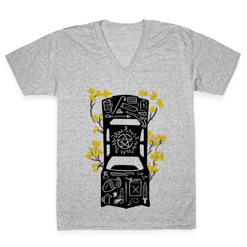 The Winchester Impala V-Neck Tee Shirt