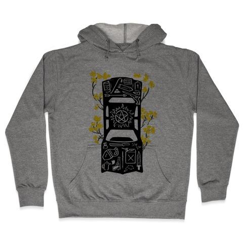 The Winchester Impala Hooded Sweatshirt