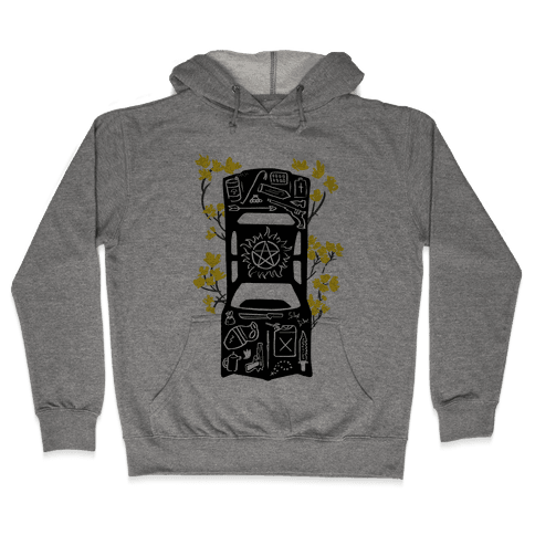 The Winchester Impala Hooded Sweatshirt