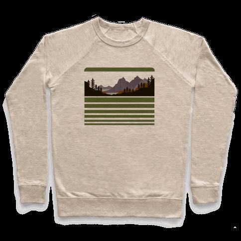 Mountain Landscape Pullover