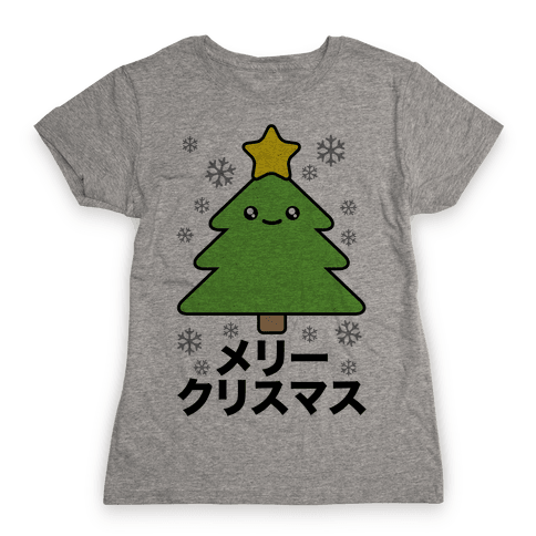 Kawaii Christmas Womens T-Shirt