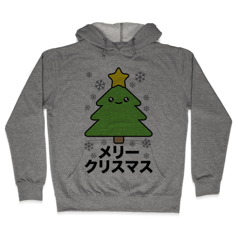 Kawaii Christmas Hooded Sweatshirt