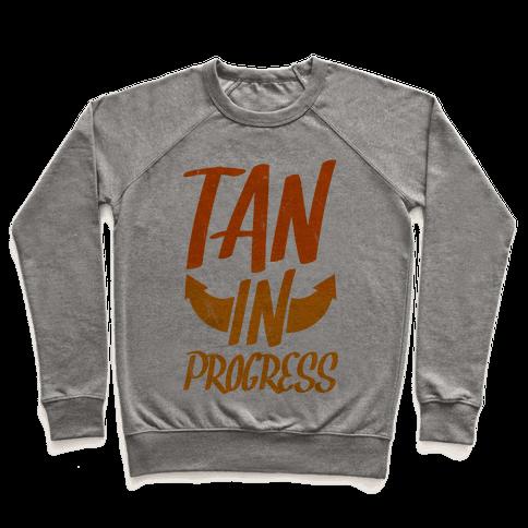 Tan In Progress Pullover