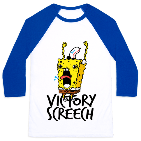 Victory Screech Baseball Tee