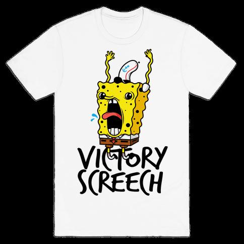 Victory Screech Mens T-Shirt