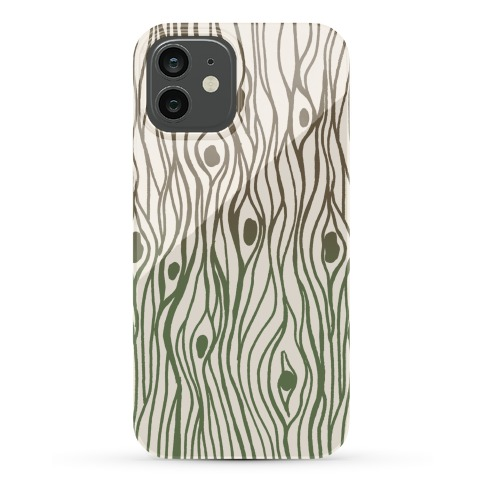 Wood Grain Pattern Phone Case