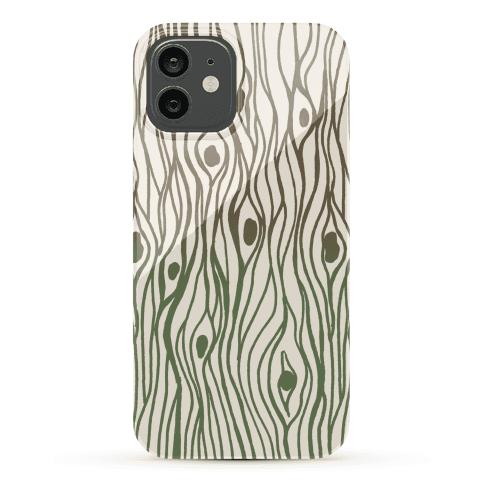 Wood Grain Pattern Phone Case