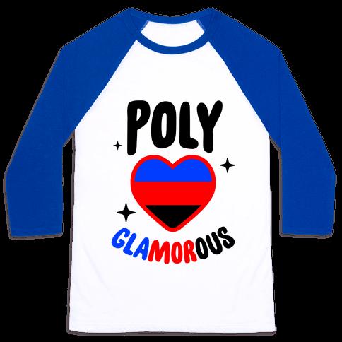 Poly Glamorous Baseball Tee