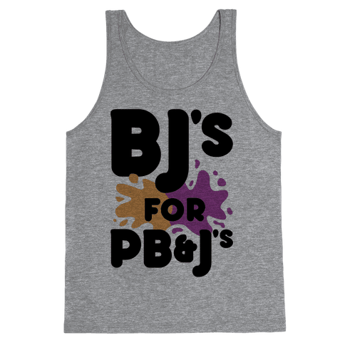 BJ's For PB&J's Tank Top