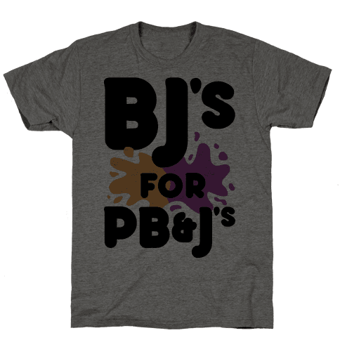 BJ's For PB&J's Mens T-Shirt