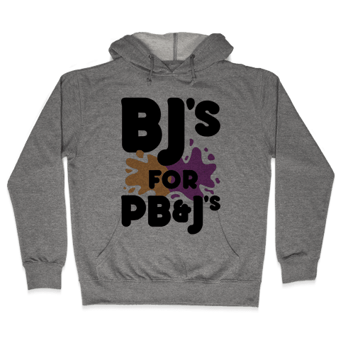 BJ's For PB&J's Hooded Sweatshirt