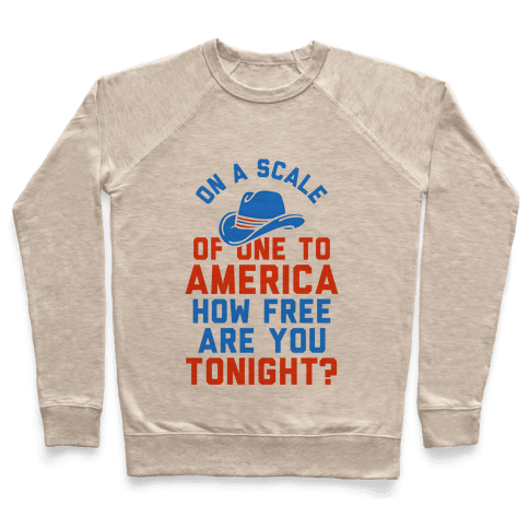 On a Scale of One To America (Tank) Pullover