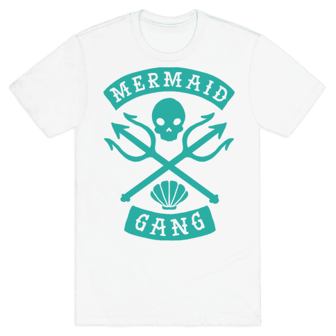 Mermaid Gang Mens T-Shirt