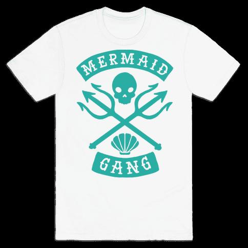 Mermaid Gang Mens T-Shirt