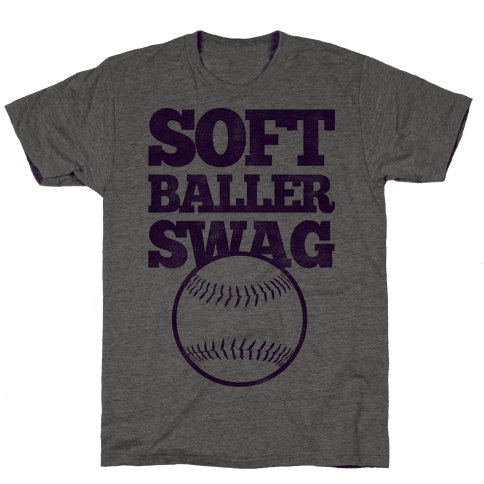 Soft Baller Swag Mens T-Shirt