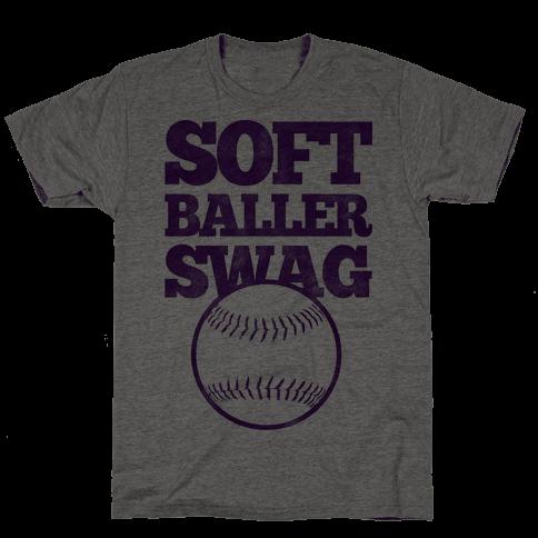 Soft Baller Swag Mens T-Shirt