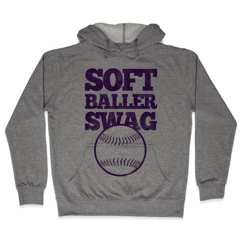 Soft Baller Swag Hooded Sweatshirt