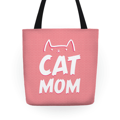 Cat Mom Tote