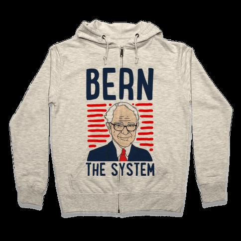 Bern the System Zip Hoodie