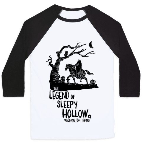 The Legend Of Sleepy Hollow Baseball Tee