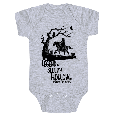 The Legend Of Sleepy Hollow Baby Onesy