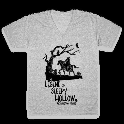 The Legend Of Sleepy Hollow V-Neck Tee Shirt