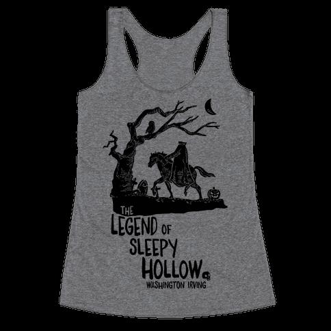 The Legend Of Sleepy Hollow Racerback Tank Top