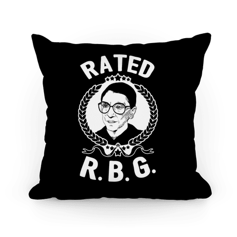 Rated R.B.G. Pillow
