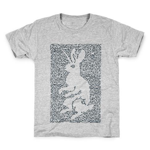 Hidden Jackalope Kids T-Shirt