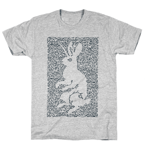 Hidden Jackalope Mens T-Shirt