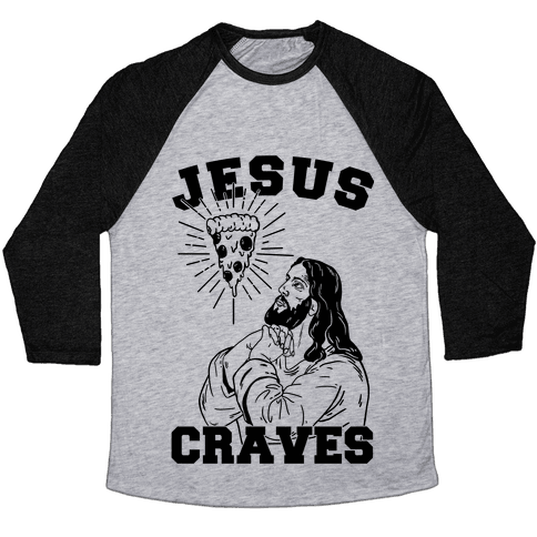 Jesus Craves Baseball Tee