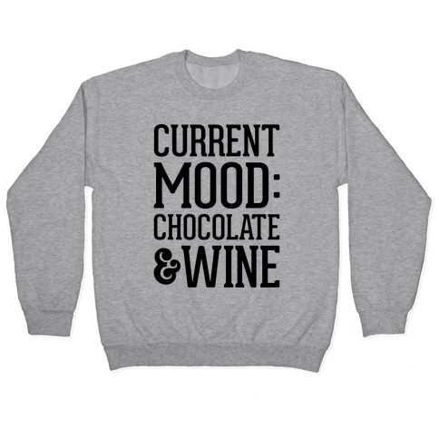 Current Mood: Chocolate & Wine Pullover