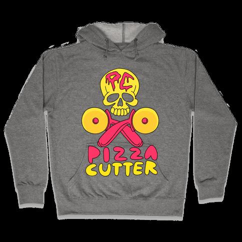 Pizza Cutter Hooded Sweatshirt