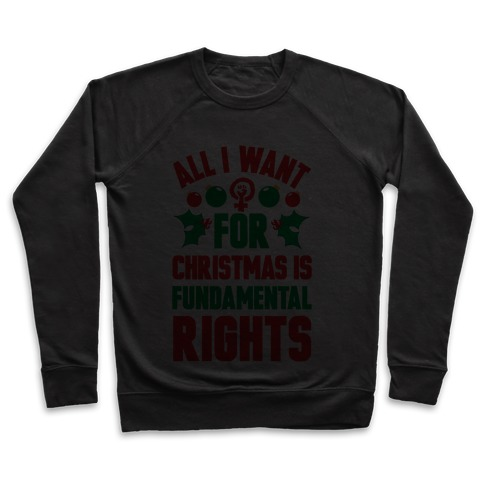 All I Want For Christmas Is Fundamental Rights Pullover
