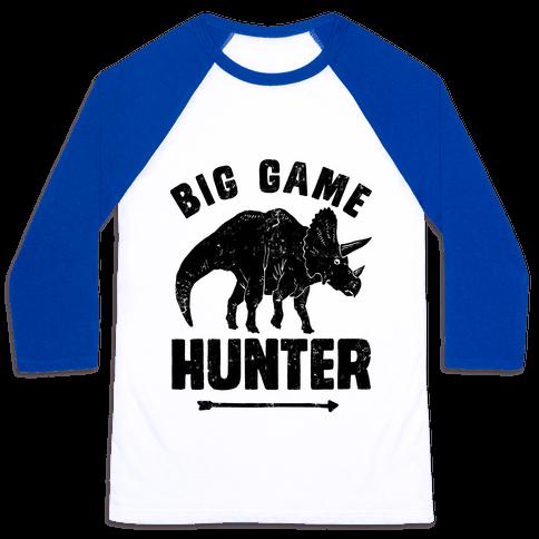 Big Game Hunter Baseball Tee