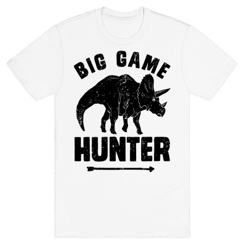 Big Game Hunter Mens T-Shirt