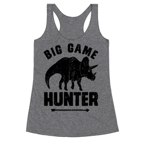 Big Game Hunter Racerback Tank Top