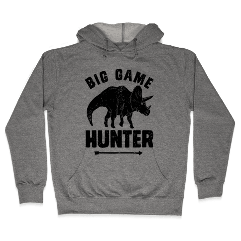 Big Game Hunter Hooded Sweatshirt