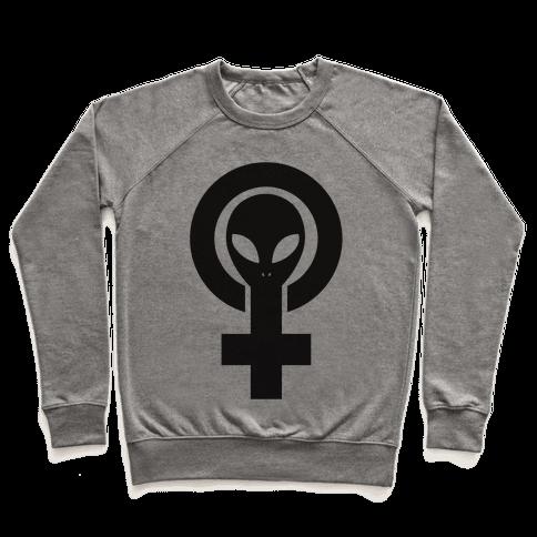 Alien Feminist Symbol Pullover
